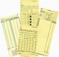 Time Cards, Punch Cards, Job Cards